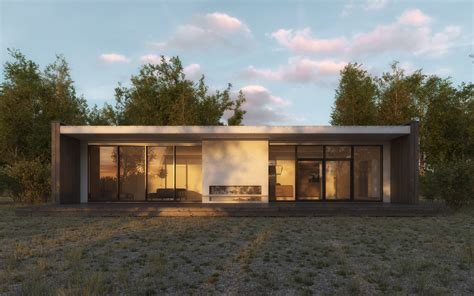 swedish design house scandinavian summer house by 3dstudija showme design