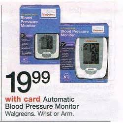 walgreens best black friday deals automatic arm blood pressure monitor at walgreens black