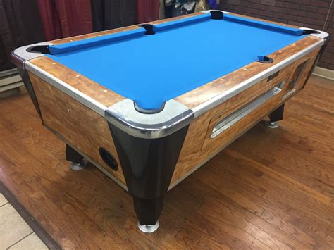 coin operated pool table table 040217 valley used coin operated pool table used