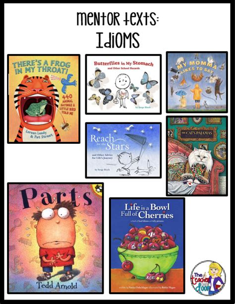 picture books with idioms elementary snapshots activities to teach idioms