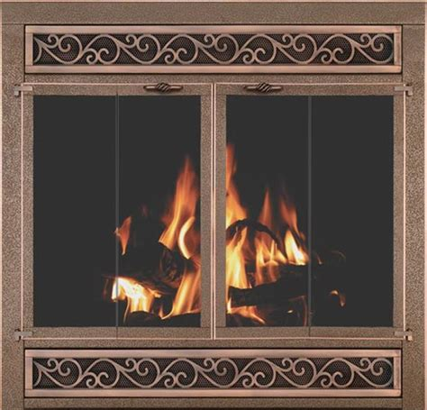 Stoll Zero Clearance Reface Zero Clearance Fireplace Glass Doors
