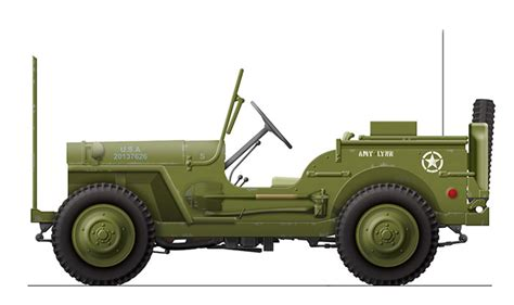 jeep artwork willys mb quot jeep quot by craig gravina artwork no scale