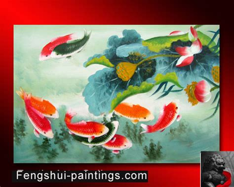 feng shui painting koi fish painting feng shui www pixshark com images galleries with a bite