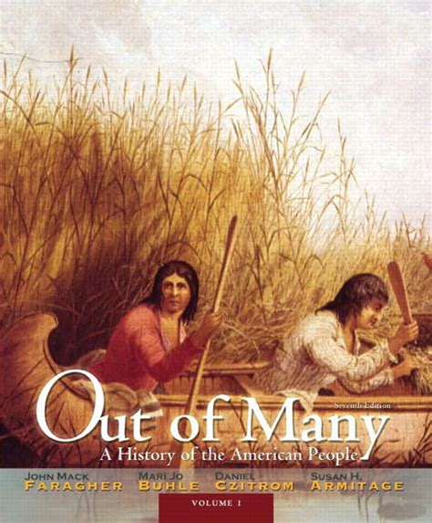 out of many volume 1 8th edition faragher buhle czitrom armitage out of many volume 1