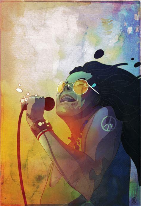 janis joplin  unillustrazione  lekargo la cantante statunitense  una delle tre grandi