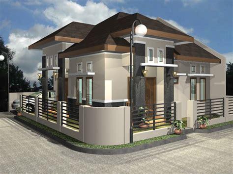 gambar desain rumah sederhana  minimalis modern informasi  model rumah