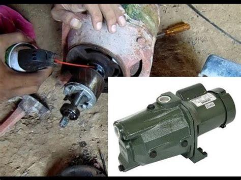 Mesin Jetpam cara bongkar mesin pompa air ambil dynamo bisa dipake