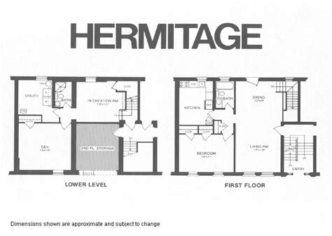 fairlington floor plans hermitage model floor plan fairlington historic district