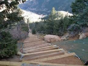 Colorado Springs Stairs by Manitou Incline To Close Again For Repair Work From August
