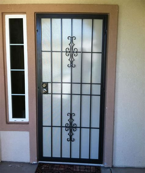 Screen Door Installation by Security Screen Doors Security Screen Door How To Install