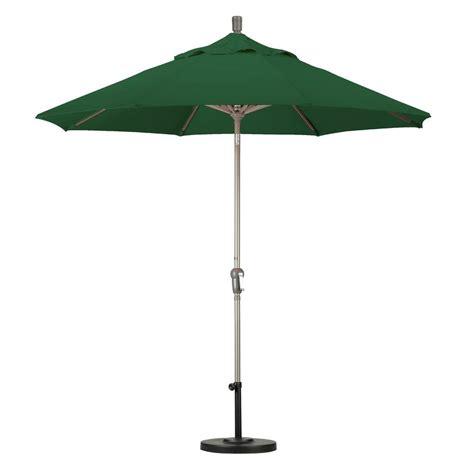 california umbrella 9 ft aluminum auto tilt patio umbrella in navy blue olefin ata908117 f09