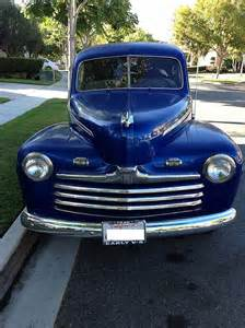 1946 Ford For Sale 1946 Ford Tudor Sedan For Sale San Juan Capistrono California