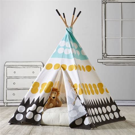 kids teepee all baby kids toys the land of nod