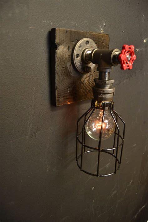 wandleuchte bad vintage 6 27 15 steunk fixture wood industrial light wall l