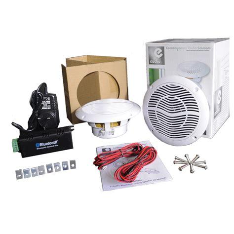 diffusori a soffitto e audio bluetooth kit di diffusori a soffitto a gear4music