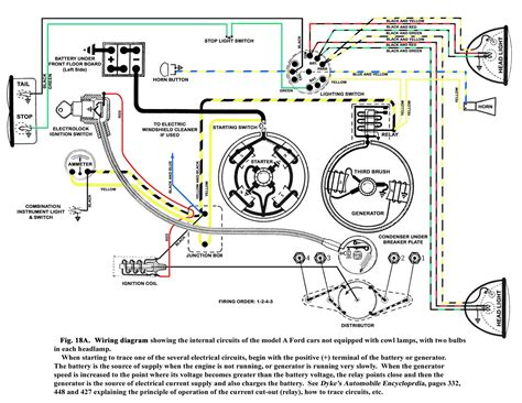 187 model a ford wiring diagram