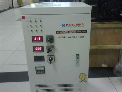 sumberstavol stabilizer matsuyama 15 kva 3 phase