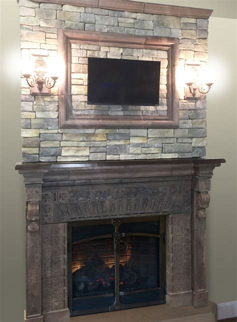 New Fireplace Mantel by New Fireplace Mantel On Display At The Hpbexpo In New