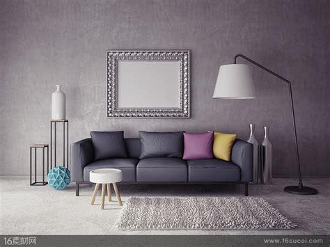 Floor Couch 个性家具室内装修高清图片 素材中国16素材网
