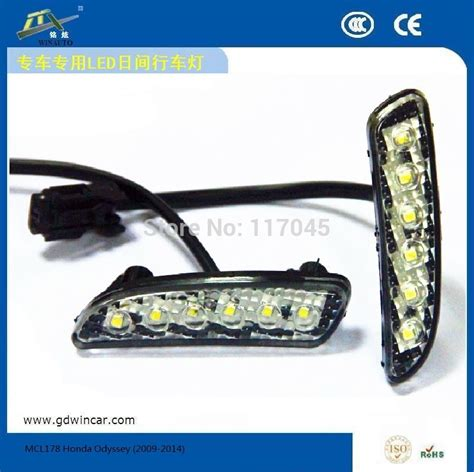 Led Drl 6ttk Water Proof water proof auto light led drl for honda odyssey 2009