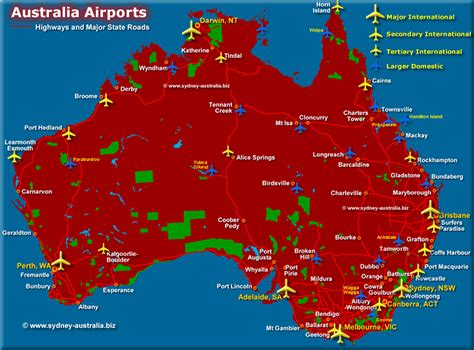 map airports australia map airports my