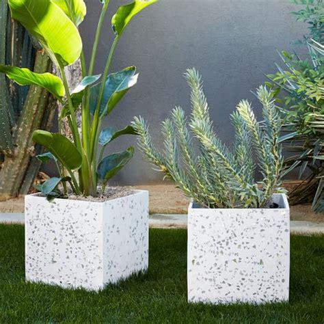 Terrazzo Planters terrazzo planters west elm