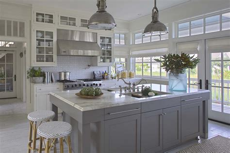 house beautiful ocean inspired kitchen urban grace breezy seaside home makeover nestled on florida s emerald