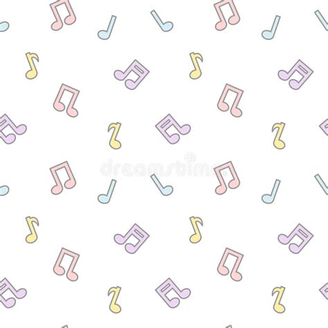 cute music pattern cute cartoon colorful lovely music notes seamless pattern