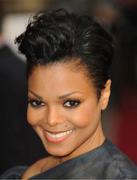 short hairstyles for full face black women short hairstyles for older women with full face