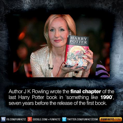 The Chapter Of Harry Potter Ready To Pre Order by Author J K Rowling Wrote The Chapter Of The Last