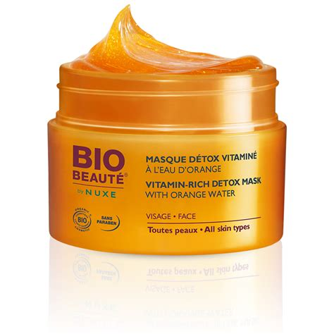 D A Detox by Prix De Bio Beaute By Nuxe Masque Visage D 233 Tox Vitamin 233