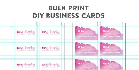 business card printing template illustrator best