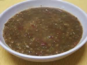 soupe aux lentilles plat du jour recettes de cuisine
