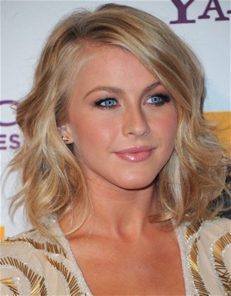julianne hough with bangs easy wavy hairstyles for all lengths hairstyle blog
