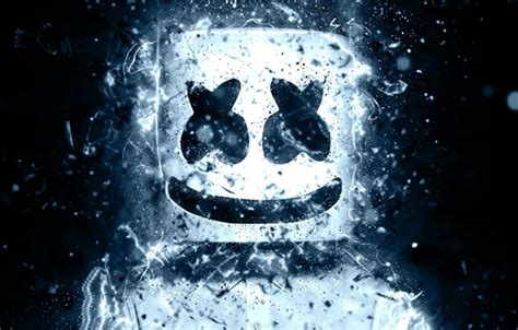 wallpaper smile mask smiley dj marshmello images  desktop section muzyka