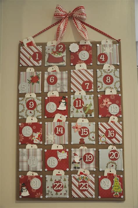 Advent Calendar Handmade - craft advent calendar honey we re home