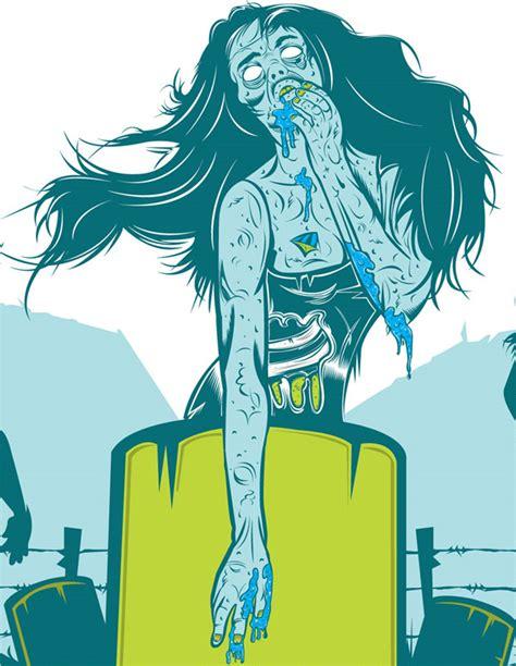 zombie design inspiration zombie art grrr arrg blog joeldelane com