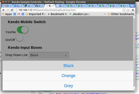 kendo mobile switch use switch in non mobile application switch kendo ui forum