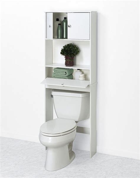 Space Saver by Bath Toilet Shelf Cabinet Bathroom Standing Space