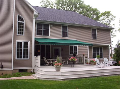 retractable porch awnings residential retractable porch awning new haven awning