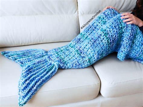 crochet mantas manta de cola de sirena a crochet ahuyama crochet