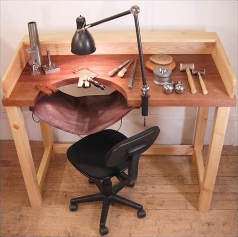 jewellery making bench work benches benches and leather on pinterest