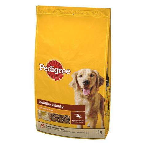 pedigree food buy pedigree food chicken rice 3kg 3kg free