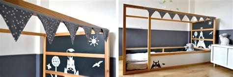 Wall Stickers Space kid friendly diys featuring the ikea kura bed