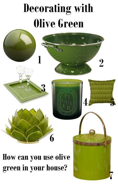 Green Decorations For Home by 17 Best Images About Wedding Sea Olives On