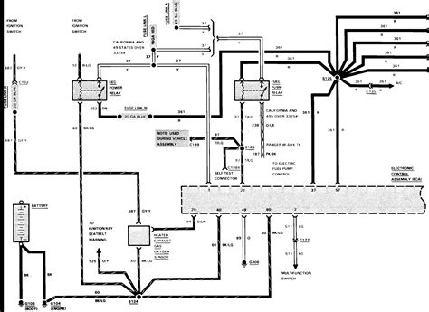 wiring diagram for 97 ford ranger get free image about