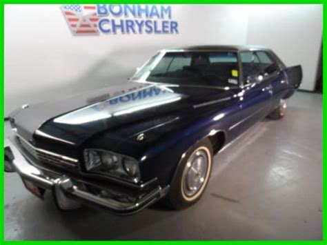 all car manuals free 1989 buick electra electronic valve timing buy used 1973 black carriage roof used automatic v8 low miles in bonham texas united states