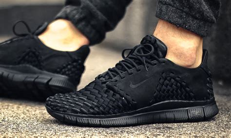 Nike Free Woven nike drops the free inneva woven 2 in stealthy quot black quot