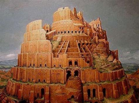 imagenes reales de la torre de babel el mito de la torre de babel