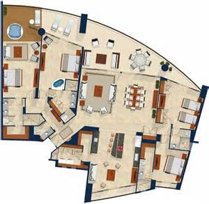 luna blanca at rocky point luxury beachfront condos floor plan of the penthouse 3 floors pictures to pin on
